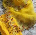 Machine Embroidered Suits
