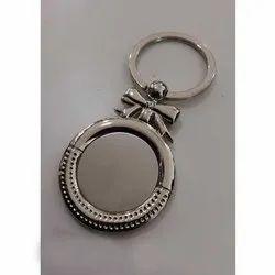 Round Engraving Keychain