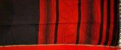 Handloom Saree BB/E050 Red & Black