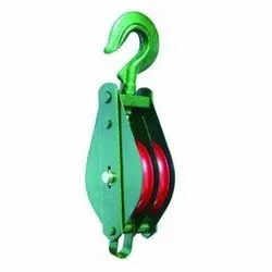 Mild Steel Chain Pulley Block, For Single Grinder Crane, Capacity: 5 Ton