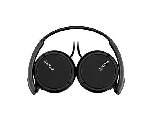 Sony MDR-ZX110 On-Ear Stereo Headphones - Black / White