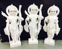 Ram Darbar Carved Marble Statue