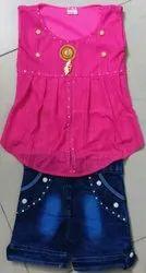Cotton Kids Girl Designer Dress