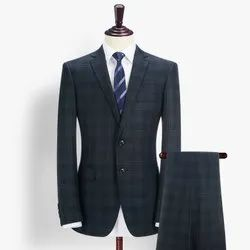 Formal Mens Cotton Check Suits, Size: 36 - 54