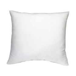 Cotton Plain White Cushions