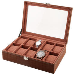 10 Brown Watch Case