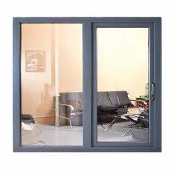 Modern SS Stainless Steel Sliding Window, For Home