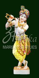 Marble Krishna Moorti
