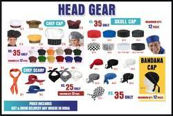 Chef Cap Head Gear