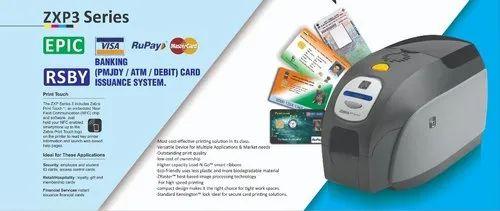 Pvc Smart Card Printer Pvc Smart Id Card Printer Zebra Zxp Series 3 Wholesaler From Kolkata