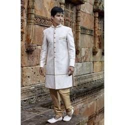 Off White Wedding Sherwani