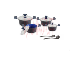 Cookware Set - 10 Pcs . Mira Bella