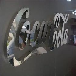 SS Powder Coated Letter