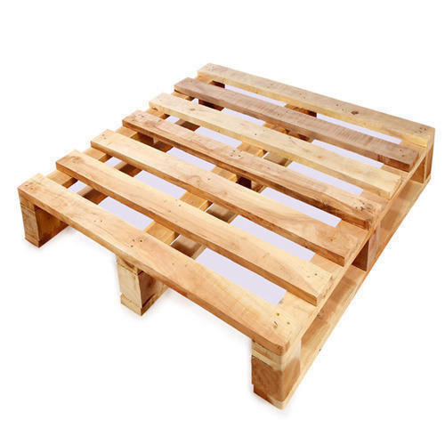 Wooden Pallet - Two Way Pallet Exporter from Ahmedabad
