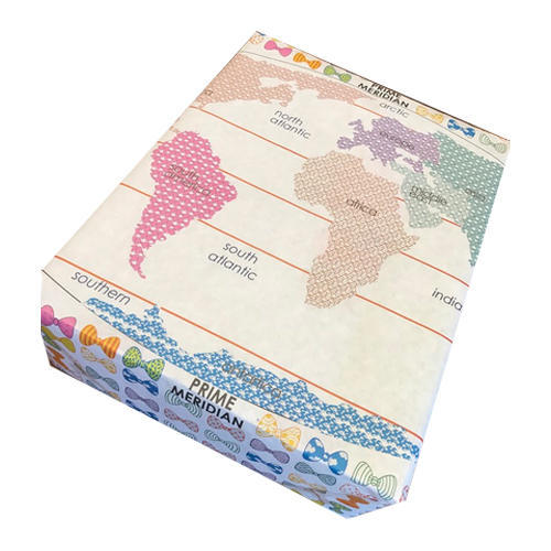 Paper Antarctica Wrapping