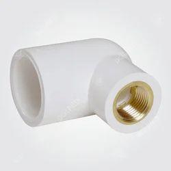 UPVC Brass Reducer Elbow
