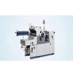 Semi-Automatic And Manual Offset Printing Machine With On-Line Numbering