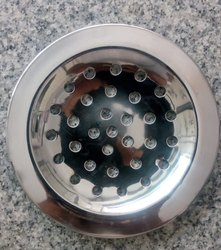 Silver SS Floor Drain Jali, For Kitchen, Bathroom Etc, Packaging Type: Box