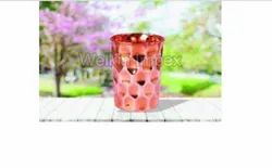 Copper Barfi Water Glasses
