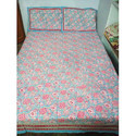 Block Print Single Bedsheet