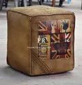 Cafe Furniture Pouf - Hotel & Resort Furniture Pouffe - Canvas Pouf