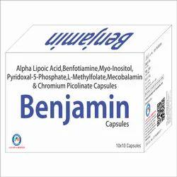 Alpha Lipoic Acid Benfotiamine - 150mg Myo- Inositol - 150mg Pyridoxal 5 Sphosphate - 2mg
