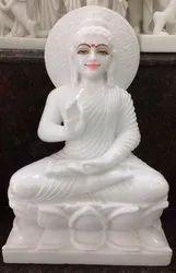 Marble Buddhist Statue
