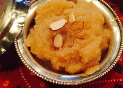 Pure Desighee Suji Halwa Ready To Eat, 270 Grams, Packaging Type: Packet