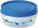 Plastic Box for Biscuit Floral Prince 1100 Ml