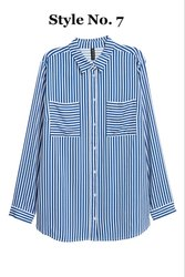 Blue Women Surplus Shirt