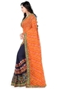 Riva Enterprise women's fashion Embroidred saree