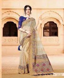Traditional Semi Silk Saree
