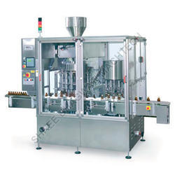 Rotary Bottle Filler Capper Machine