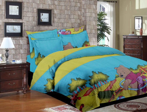 Printed Colourful Fancy Bed Sheets