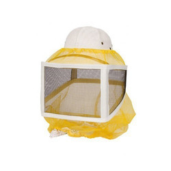 Beekeeping Square Hood Veil With Draw String