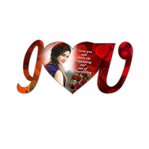 I Love U Photo Frames Decorative Picture Frame Sajavti Photo Frame