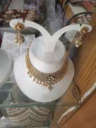 White Necklace Set, Occasion: Wedding