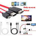 Universal Android Phones Mini USB to HDMI 1080P HD TV Cable