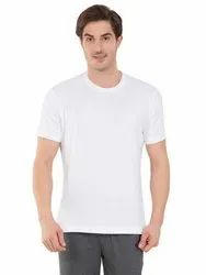 Cotton Jockey White Sport T-Shirt