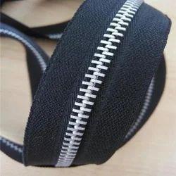 Silver Aluminium Zipper