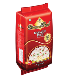 Printed Rice Packaging Bags