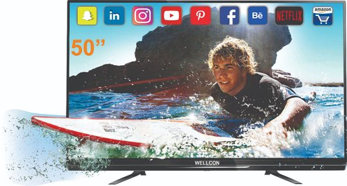 Wellcon 50 Inch Smart 4K Ready Led Tv