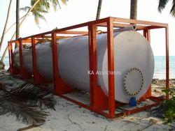 SS Framed Storage Tank