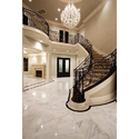 White Flooring Marble Stone, Thickness: 16 Mm