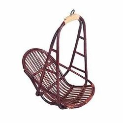 Arvabil Cane Bamboo Jhula, Handmade, For Home, Seating Capacity: 1 Seater