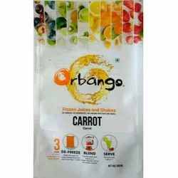 Cold Pressed Carrot Juice, Packaging Type: Pouch, Packaging Size: 300ml