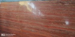 Polished Finish Slab Red Marble, Thickness: 18mm