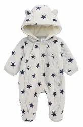 Hooded Printed Baby Hoodie Set
