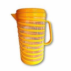 Yellow Plastic Water Jug