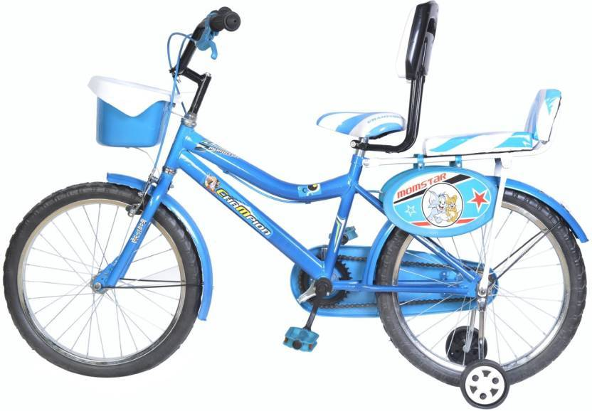 Mustang Champion Bike For Kids Age Of 5 To 8 Yrs Single Speed Blue